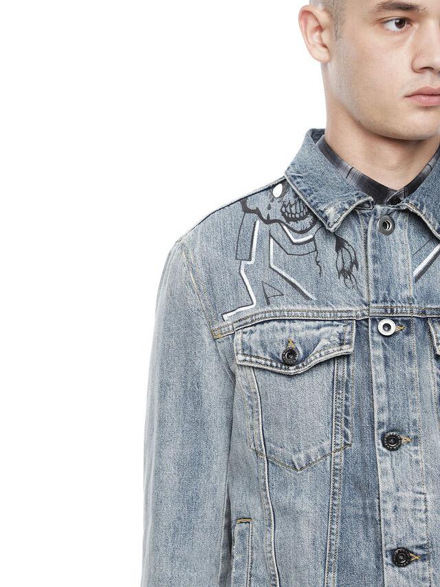 Diesel - JARTEGRAF, Blue Jeans - Jackets - Image 7