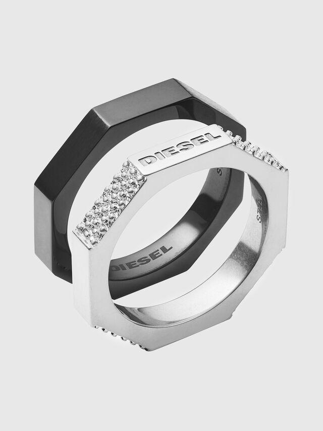 Diesel - DX1158, Black/Silver - Rings - Image 1