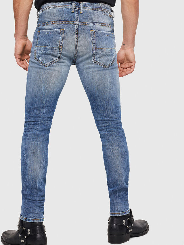 Diesel - Thommer 0090M, Medium Blue - Jeans - Image 2
