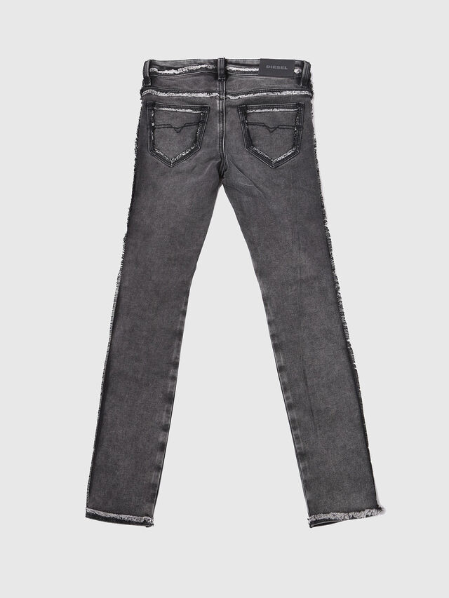 Diesel - SKINZEE-LOW-J-N SP1, Black/Grey - Jeans - Image 2