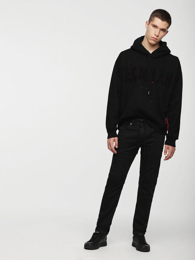 Diesel - DVL-SIZIP-CAPSULE, Black - Sweatshirts - Image 4