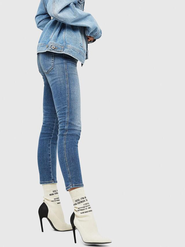 Diesel - Babhila 086AP, Medium Blue - Jeans - Image 4