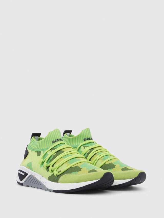 Diesel - S-KB SL, Green Fluo - Sneakers - Image 2