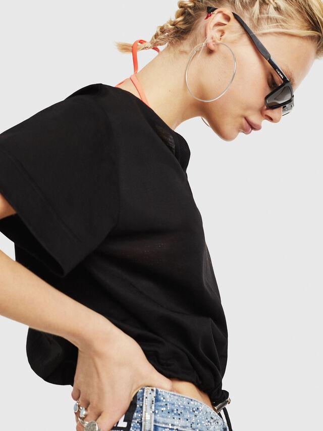 Diesel - T-ELISY-A, Black - T-Shirts - Image 4