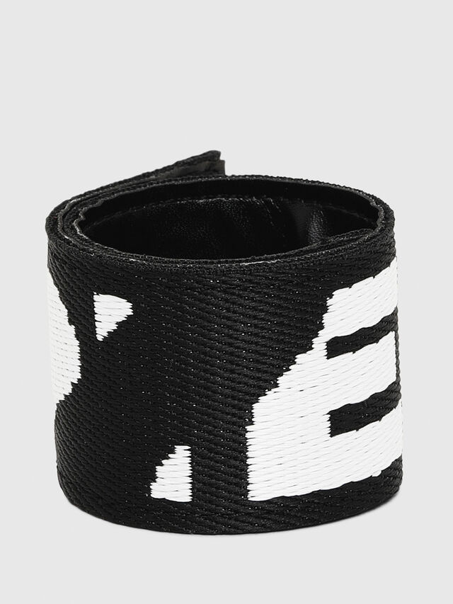 Diesel - A-BAND, Black/White - Bijoux and Gadgets - Image 1