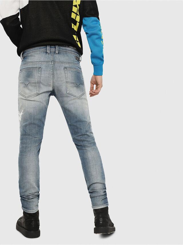 Diesel - Thommer JoggJeans 8880T, Medium Blue - Jeans - Image 2