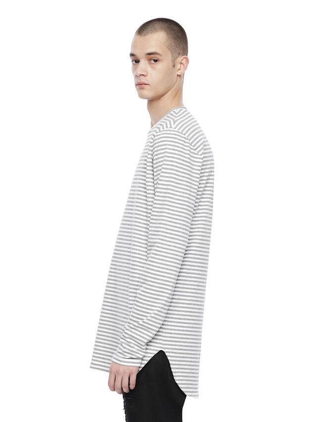 Diesel - TRYGA, Grey - T-Shirts - Image 3