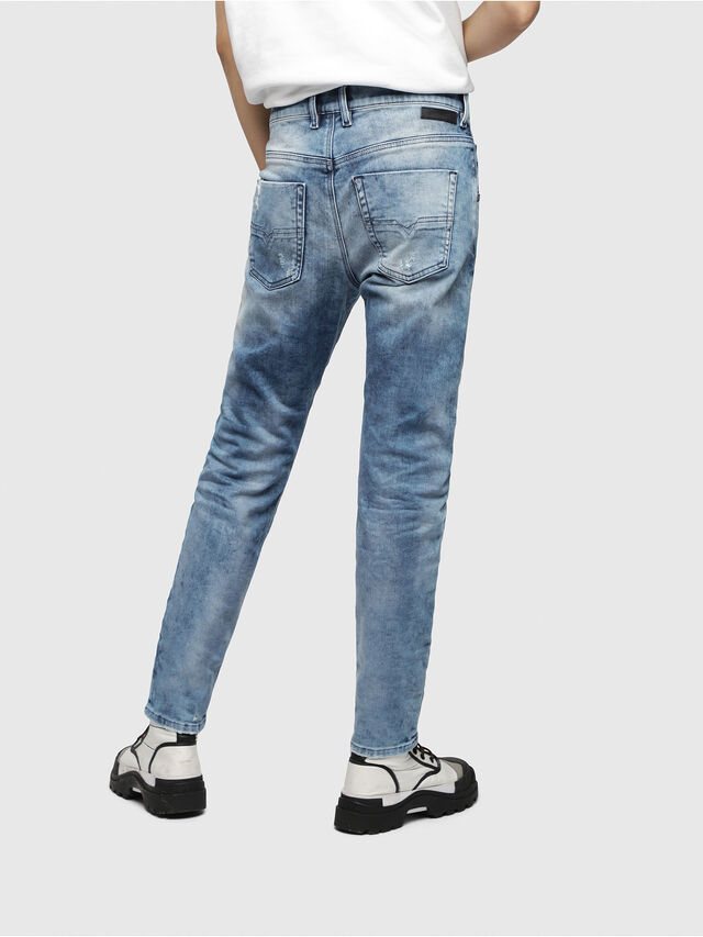 Diesel - Krailey JoggJeans 080AS, Medium Blue - Jeans - Image 2
