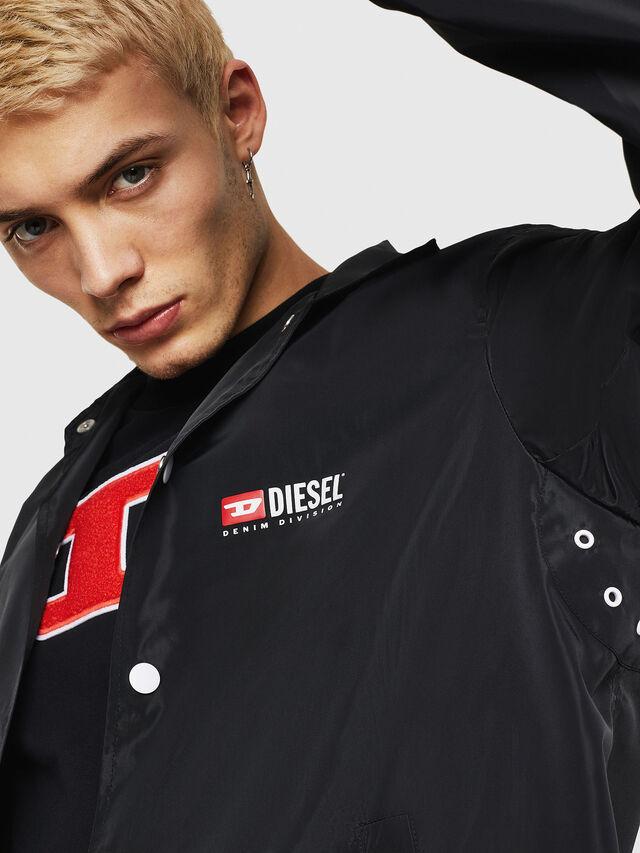Diesel - J-ROMAN-P, Black - Jackets - Image 5
