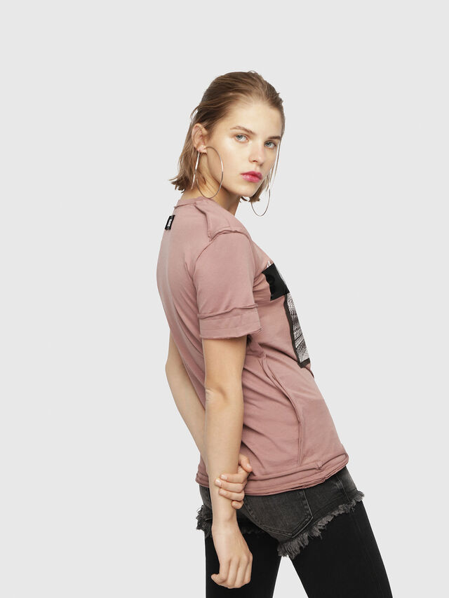 Diesel - T-SILY-WB, Face Powder - T-Shirts - Image 2