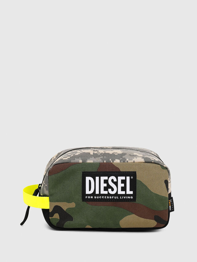 Diesel - POUCHH, Green Camouflage - Bijoux and Gadgets - Image 1