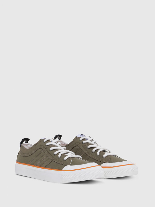 Diesel - S-ASTICO LC LOGO, Military Green - Sneakers - Image 2