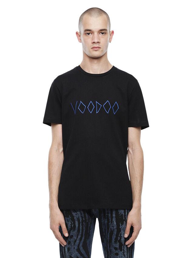 Diesel - TY-VOODOO, Black - T-Shirts - Image 1