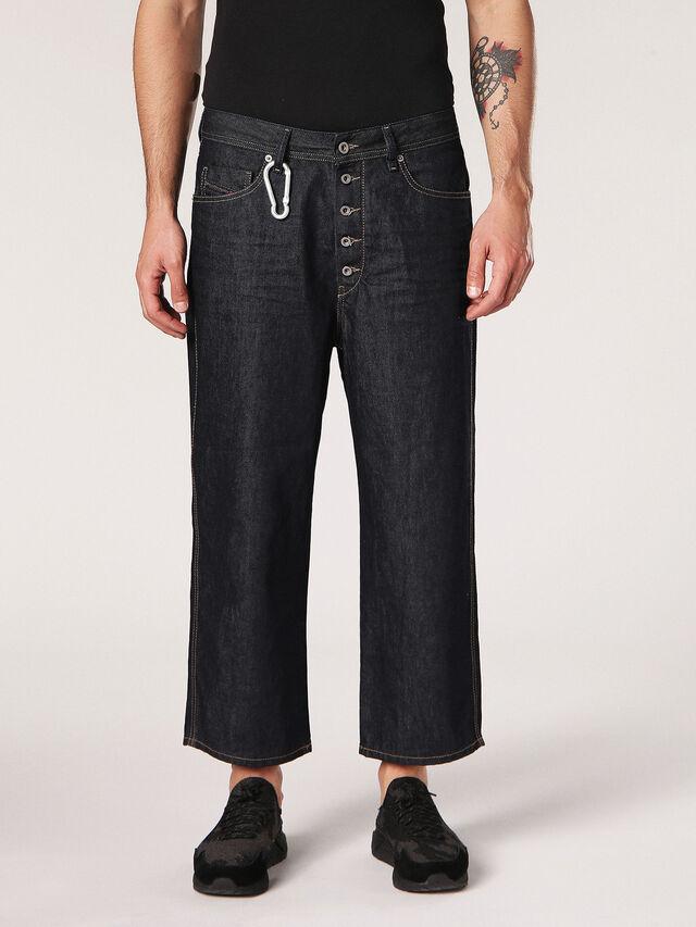 Diesel - Flip 0088Z, Dark Blue - Jeans - Image 1