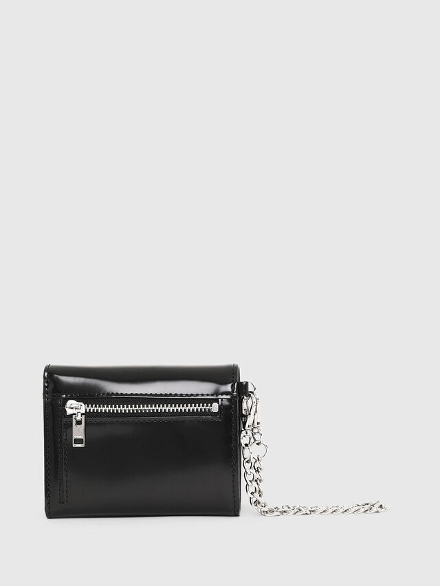 Diesel - YAMY II, Black/White - Small Wallets - Image 2
