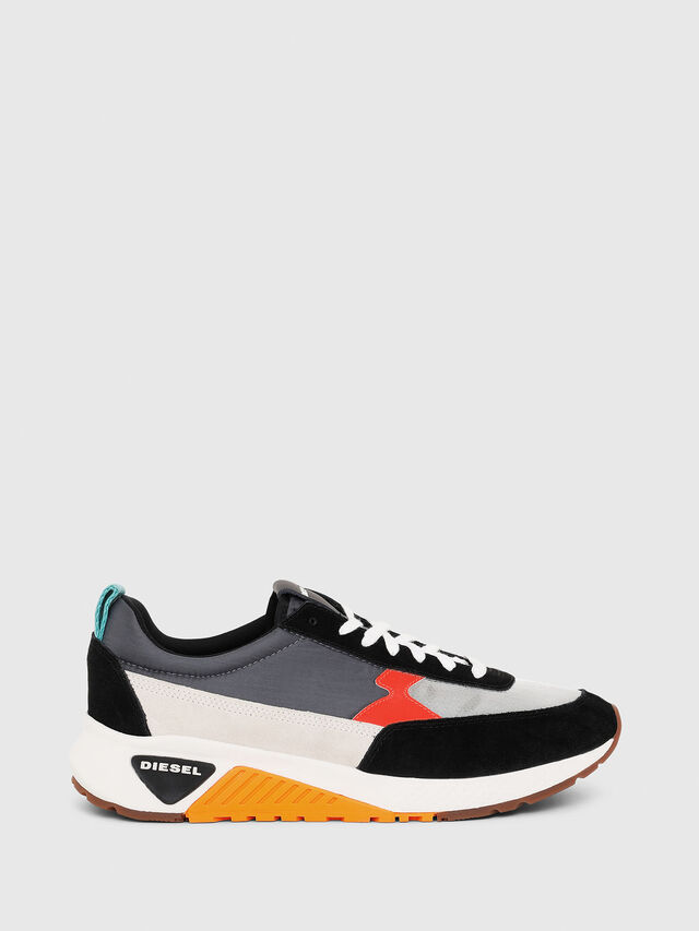 Diesel - S-KB LOW LACE II, Multicolor/Black - Sneakers - Image 1