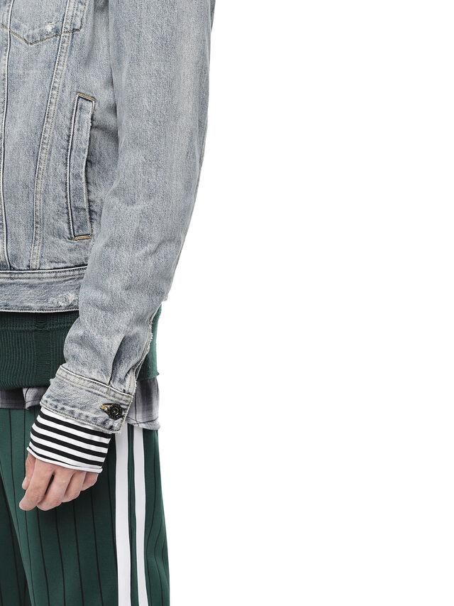 Diesel - JARTEGRAF, Blue Jeans - Jackets - Image 5
