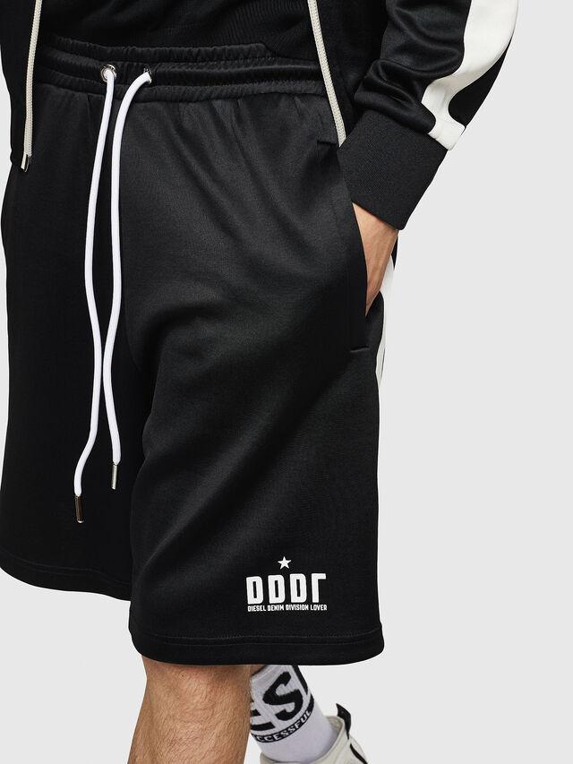 Diesel - P-MIKHAIL, Black - Shorts - Image 4