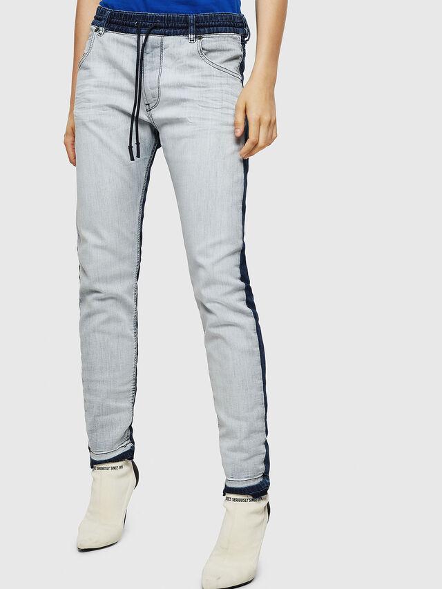 Diesel - Krailey JoggJeans 0870R, Medium Blue - Jeans - Image 1
