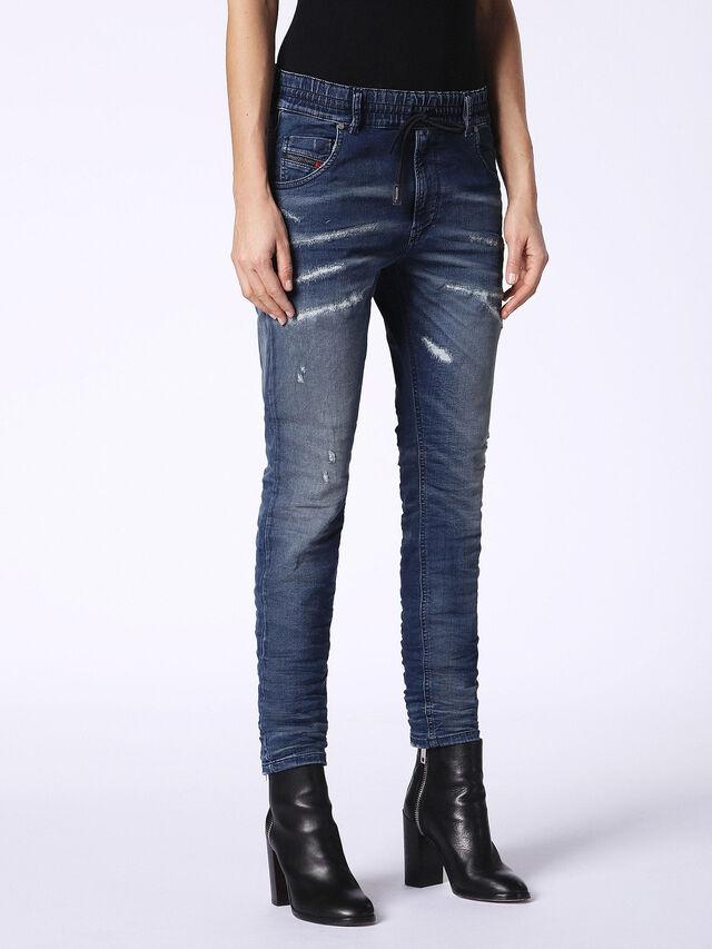 Diesel - Krailey JoggJeans 069CB, Dark Blue - Jeans - Image 4