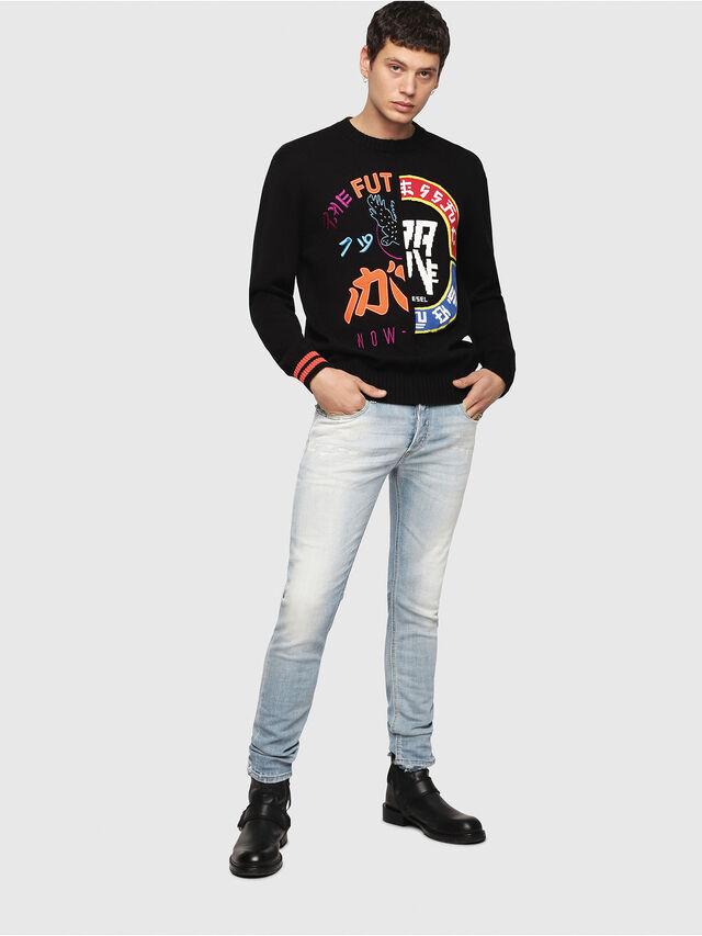 Diesel - K-FUT, Multicolor/Black - Sweaters - Image 5