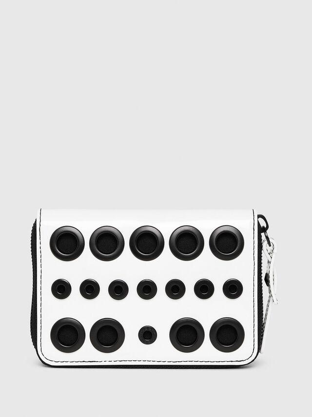 Diesel - JADDAA, White/Black - Small Wallets - Image 1