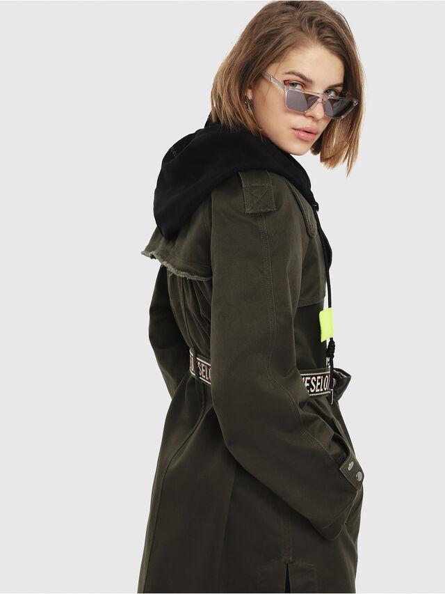 Diesel - G-ACIR-B, Military Green - Jackets - Image 4