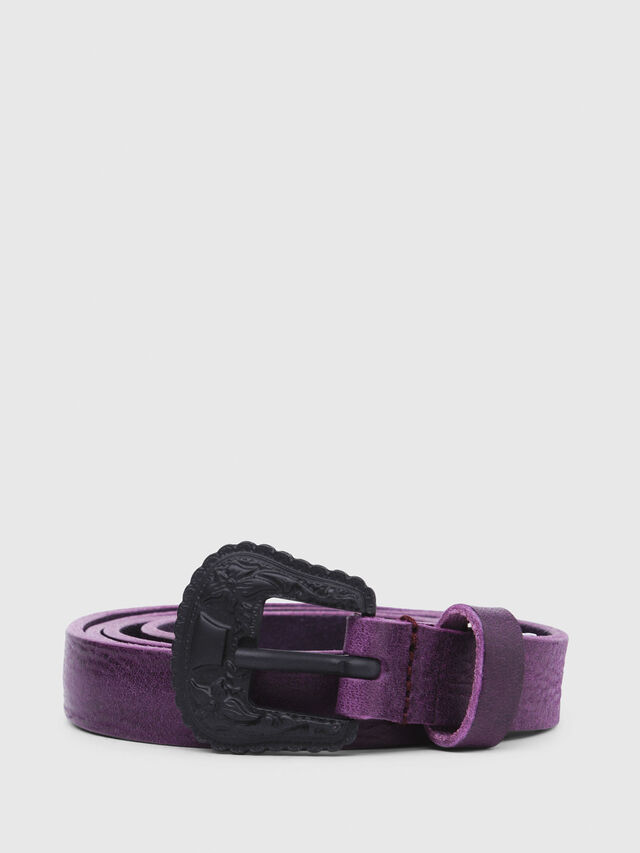 Diesel - B-TEXY, Violet - Belts - Image 1