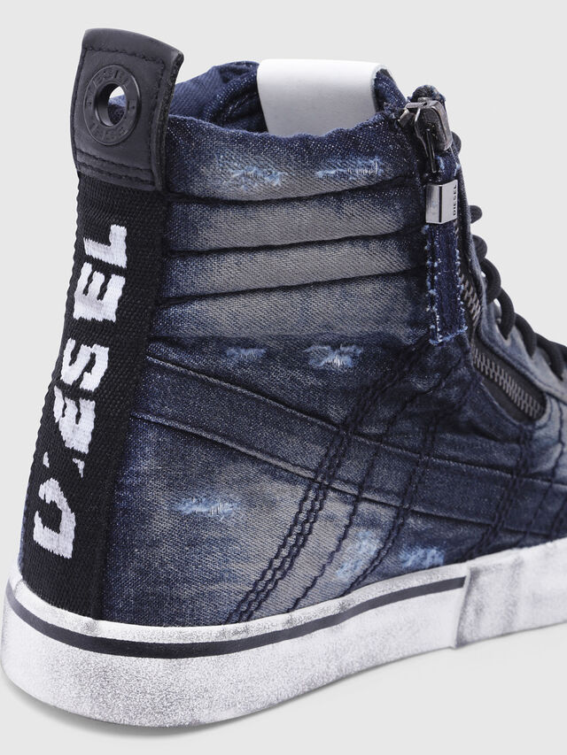 Diesel - D-VELOWS MID LACE, Night Blue - Sneakers - Image 5