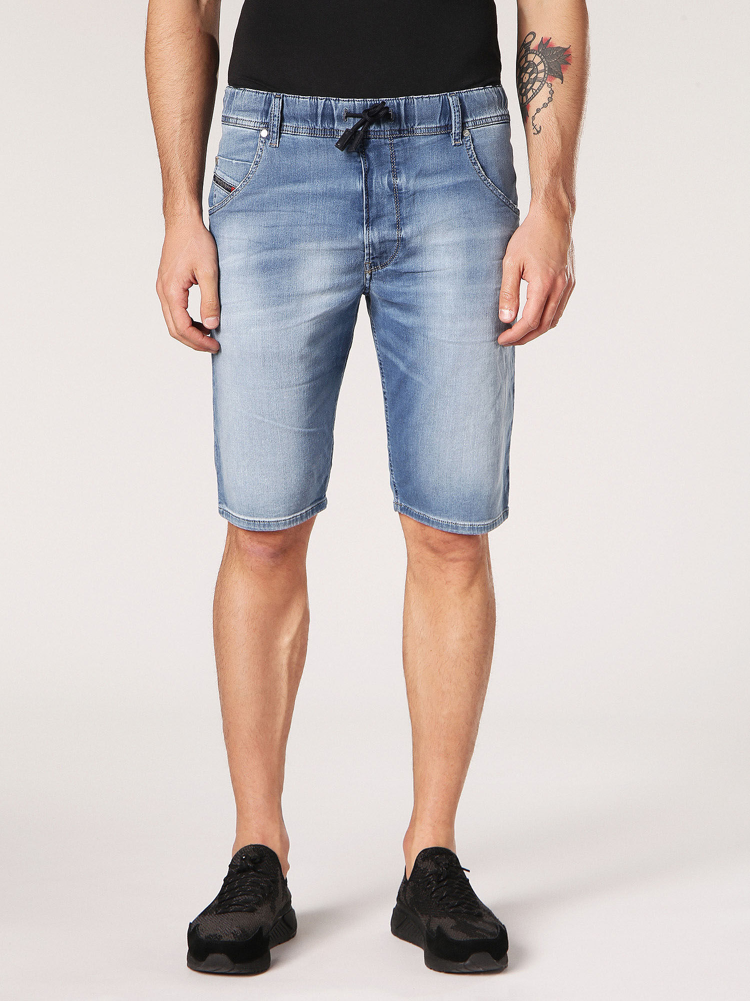 Shorts for Men On Sale, Blue Denim, Cotton, 2017, 29 33 Diesel