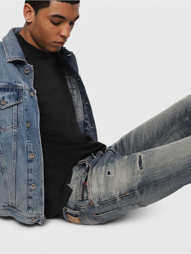 Diesel - Sleenker 069DK, Medium Blue - Jeans - Image 5