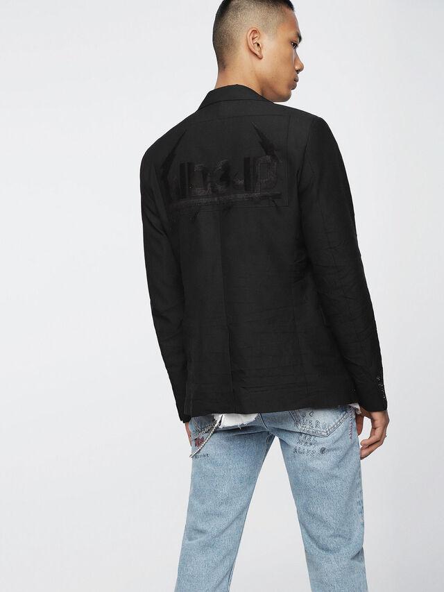Diesel - J-EMMIE, Opaque Black - Jackets - Image 2