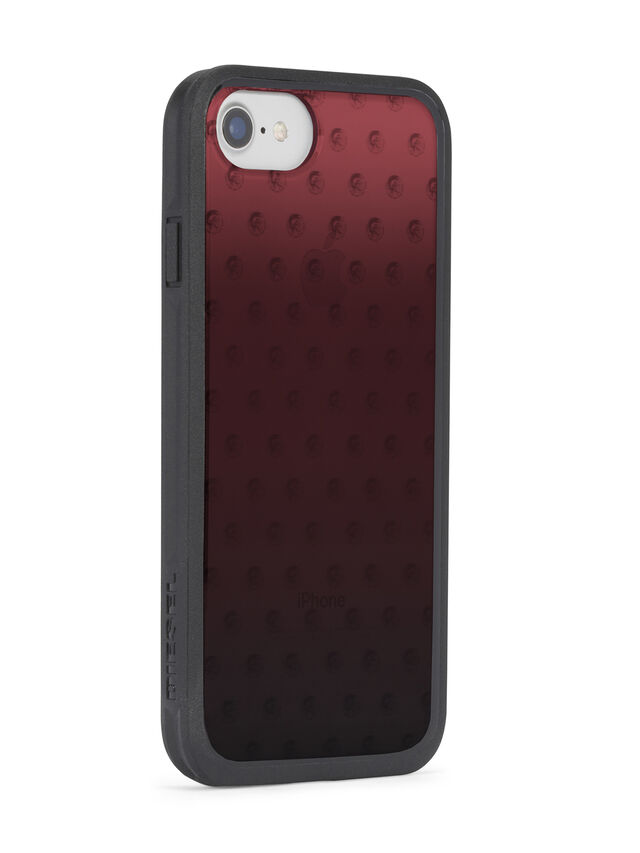 Diesel - MOHICAN HEAD DOTS RED IPHONE X CASE, Red - Cases - Image 5