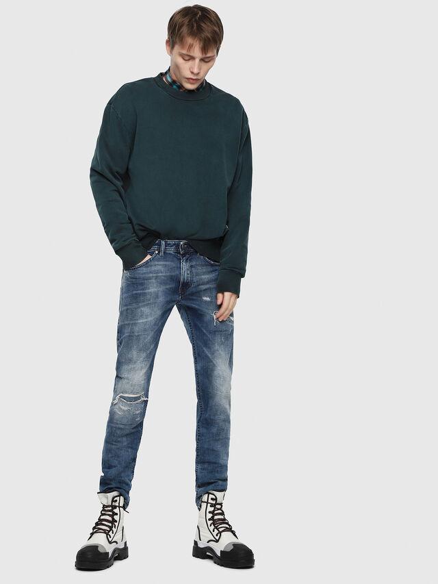 Diesel - Thommer 082AH, Medium Blue - Jeans - Image 4