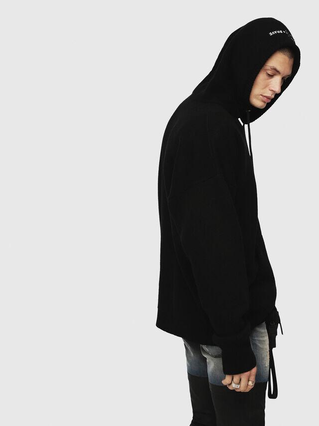 Diesel - K-NONAME, Black - Sweaters - Image 2