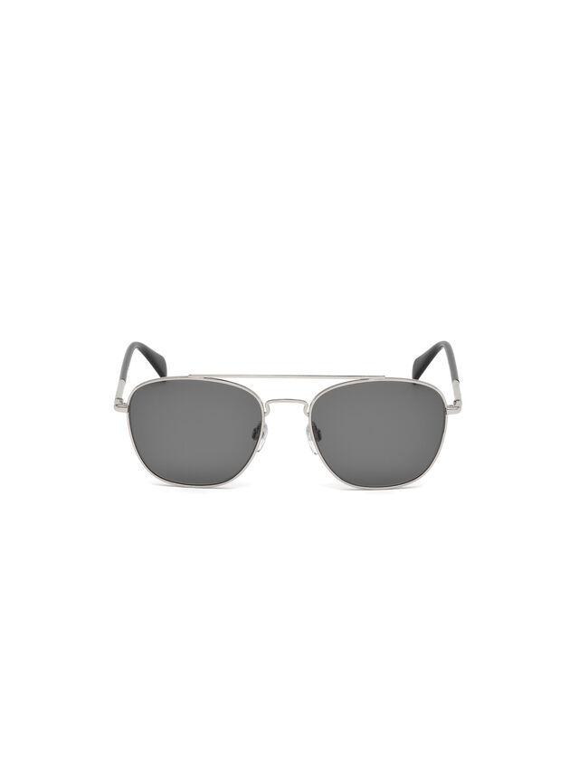 Diesel - DM0194, Silver - Sunglasses - Image 1