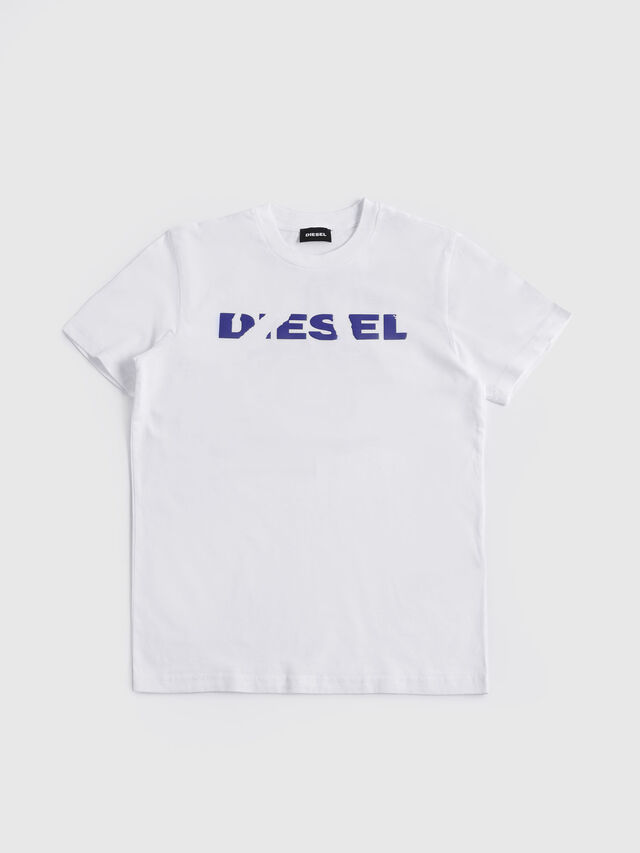 Diesel - TIXTO, White - T-shirts and Tops - Image 1