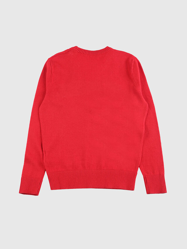 Diesel - KRENOIR, Fire Red - Sweaters - Image 2