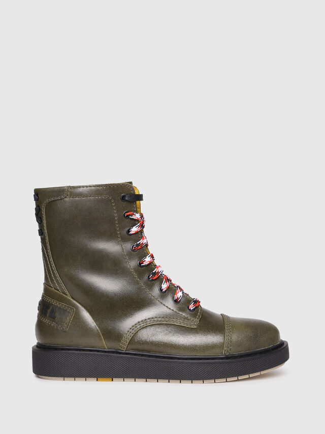 Diesel - D-CAGE DBB, Olive Green - Boots - Image 1