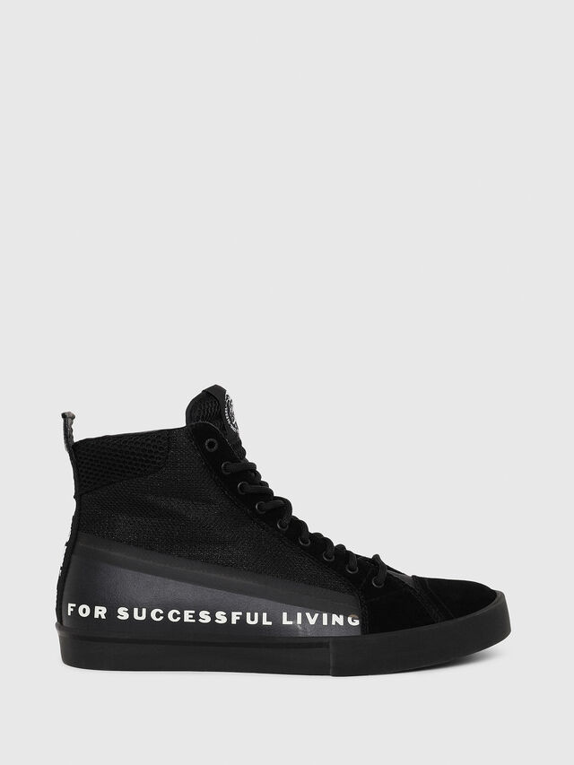 Diesel - S-DVELOWS MID, Black - Sneakers - Image 1