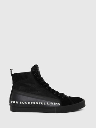 91526837 S-DVELOWS MID, Black - Sneakers. 2 Color. High-top sneakers in ...