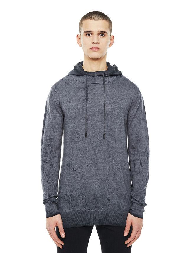 Diesel - KESULFY, Black/Grey - Sweaters - Image 1
