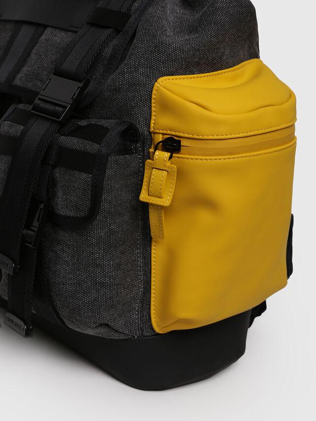 Diesel - M-CAGE BACK, Gray/Black - Backpacks - Image 3