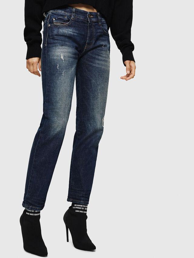 Diesel - D-Rifty 089AL, Dark Blue - Jeans - Image 6