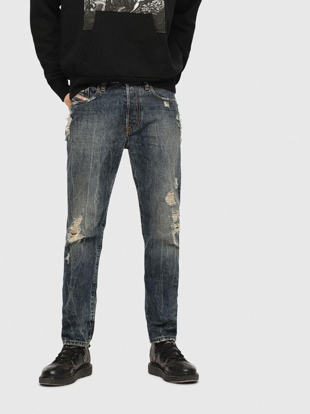 8ca1ca18abc Diesel - Mharky 084ZM, Dark Blue - Jeans - Image 1