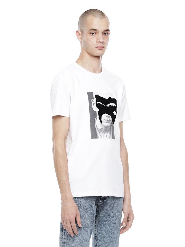 Diesel - TY-M4, White - T-Shirts - Image 3