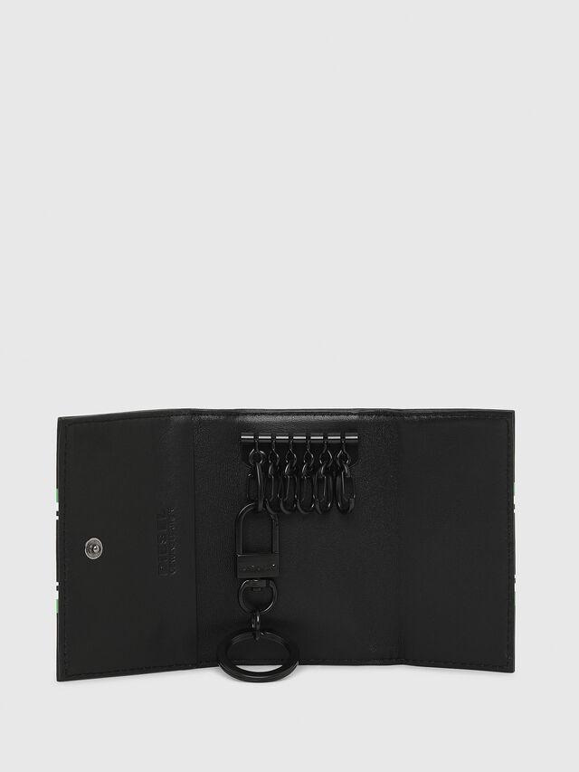 Diesel - KEYCASE O, Black/Green - Bijoux and Gadgets - Image 3