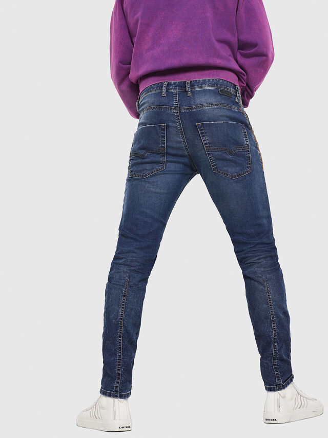 Diesel - Krooley JoggJeans 069FG, Medium Blue - Jeans - Image 2