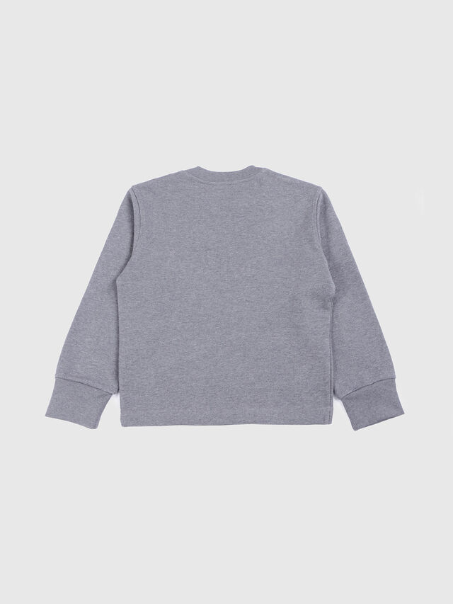 Diesel - SFREMONT OVER, Grey - Sweatshirts - Image 2
