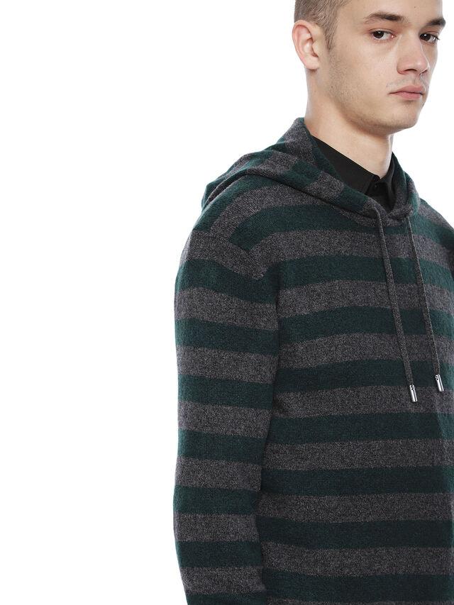 Diesel - KARCE-HOOD, Green - Sweaters - Image 3